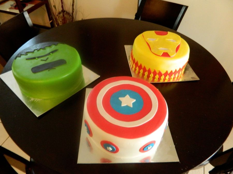 Super Hero Cakes on Cake Central