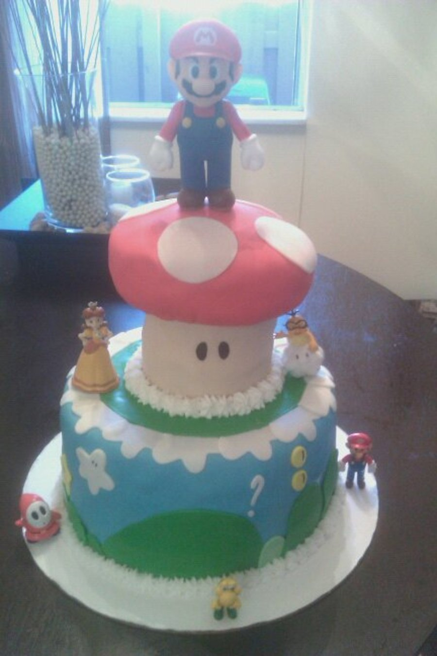 Super Mario Cake on Cake Central