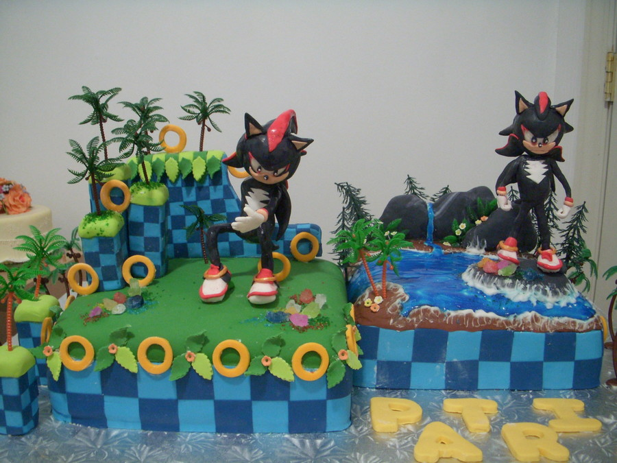 Shadow Of The Hedgehog on Cake Central