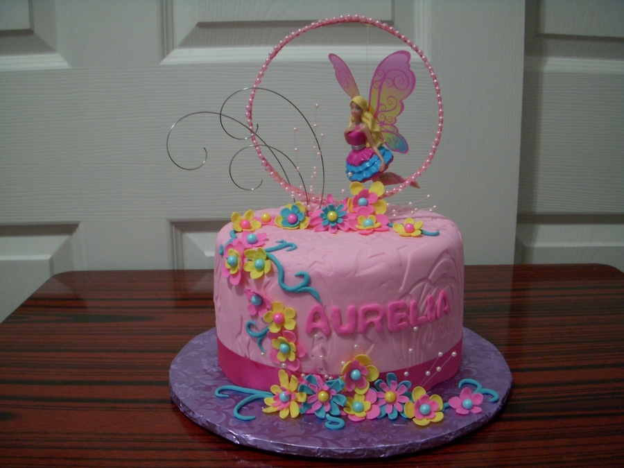 Barbie Fairy on Cake Central