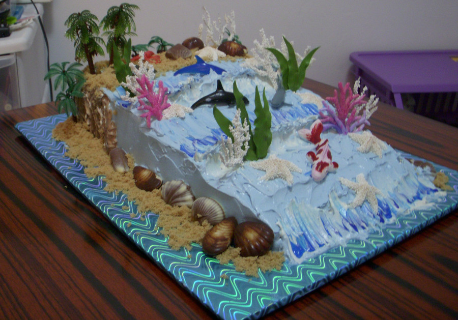 Into The Sea on Cake Central