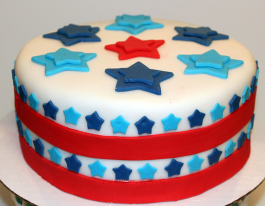 July 4Th Stars Cake on Cake Central