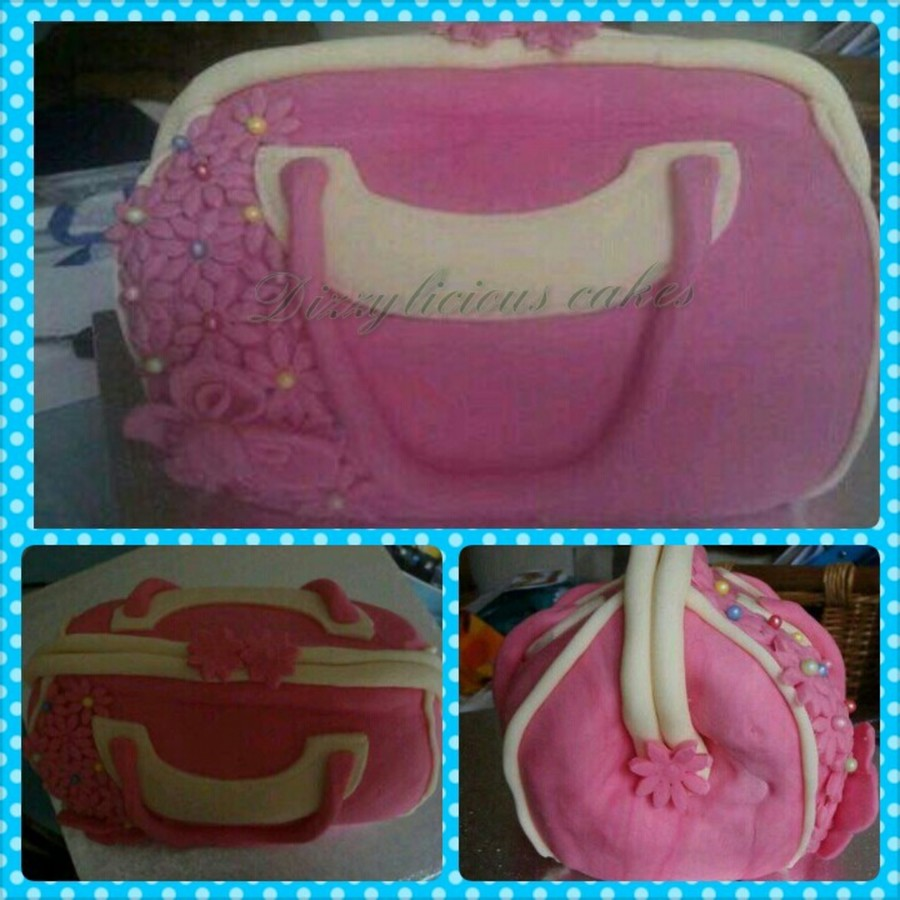 My First Handbag Cake on Cake Central