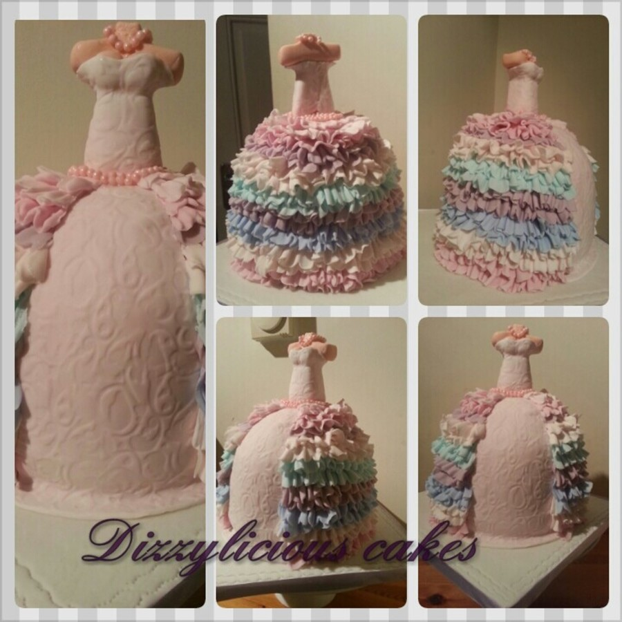 My First Dress Cake on Cake Central