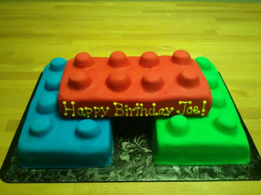 Lego 1St Birthday Cake on Cake Central