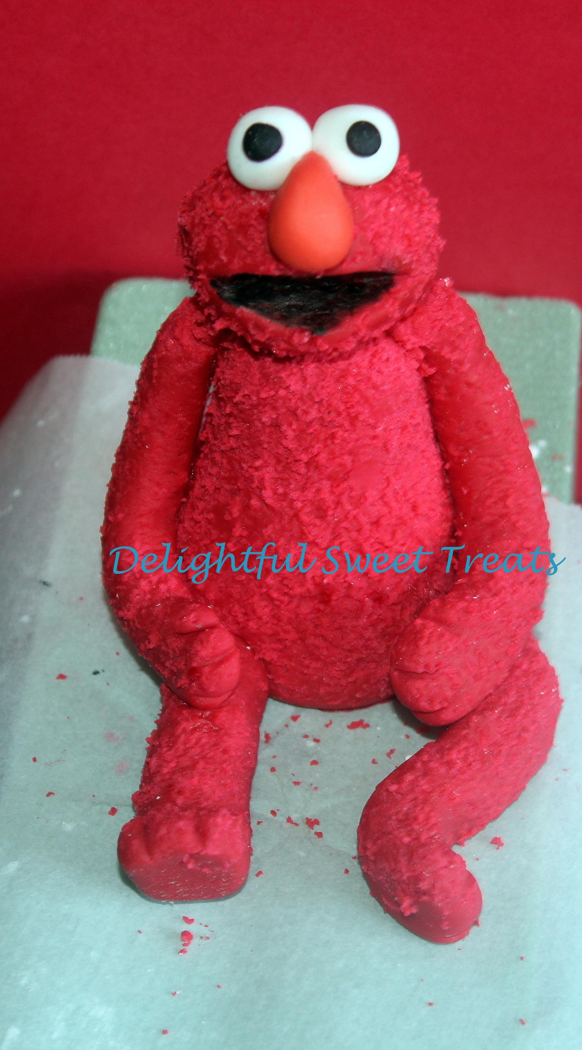 Elmo-2Nd Birthday Cake - CakeCentral.com