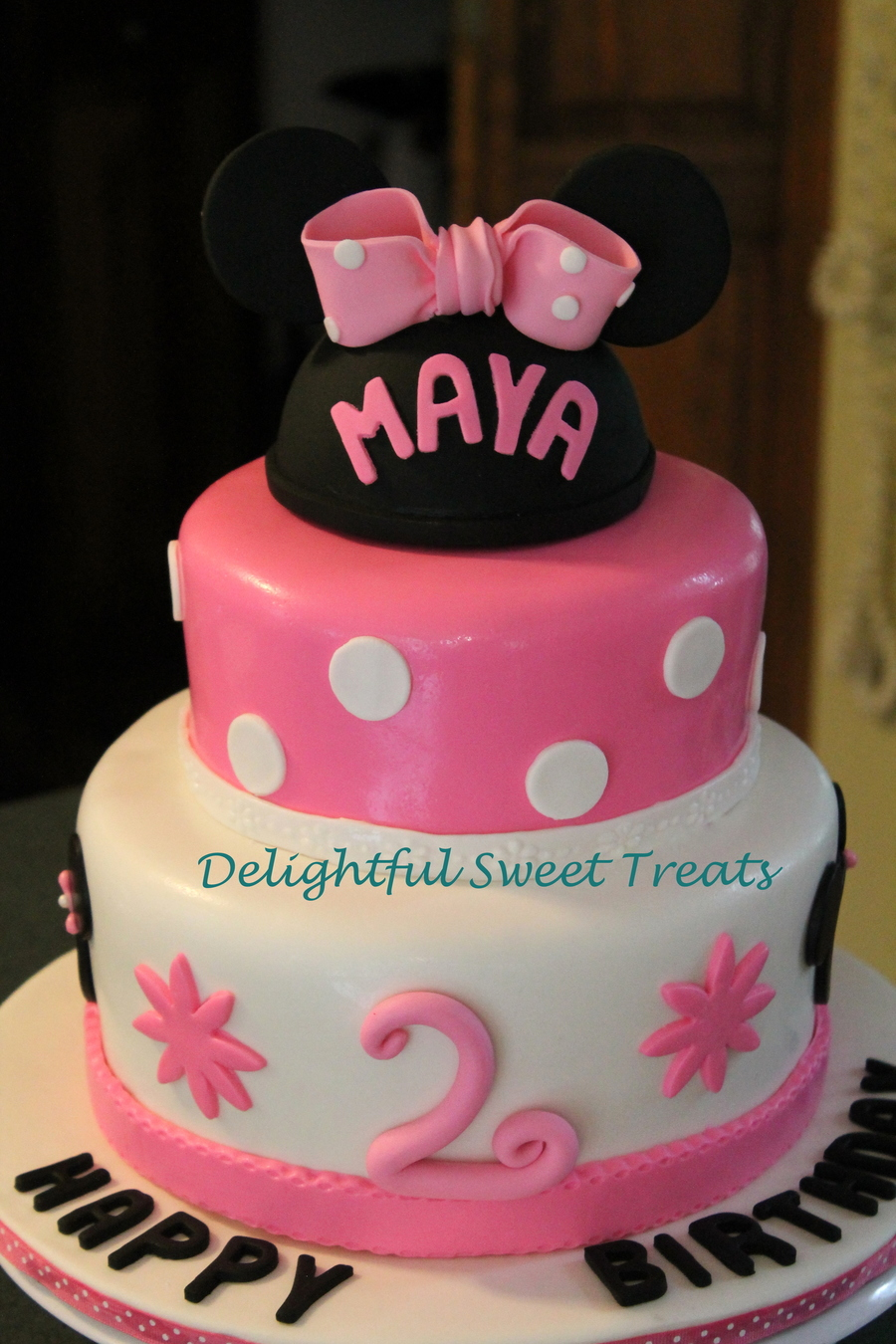 Excellent Baby Minnie Mouse Birthday Cake Cakecentral Com Funny Birthday Cards Online Unhofree Goldxyz