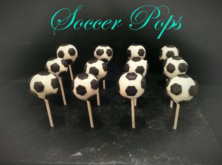 Soccer Ball Cakepops!!! on Cake Central