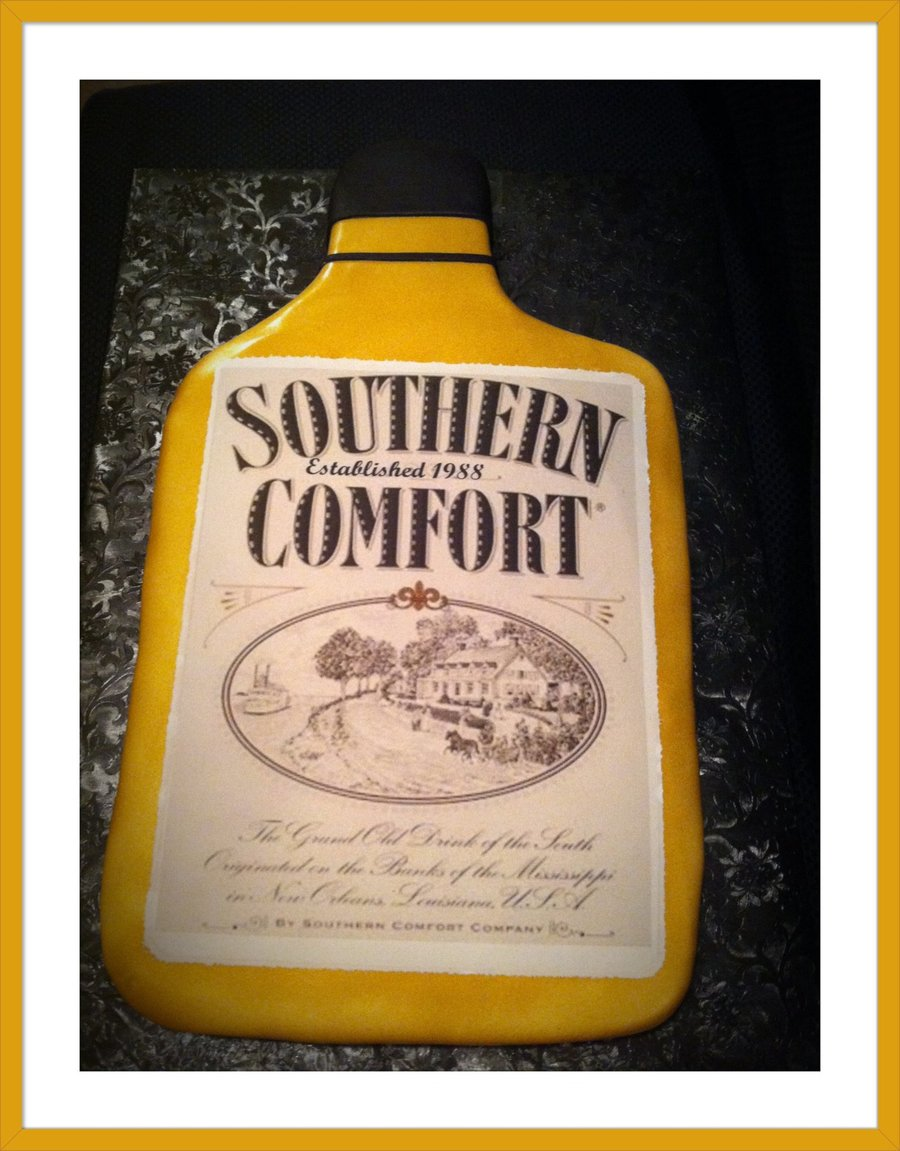 Southern Comfort Cake - CakeCentral.com