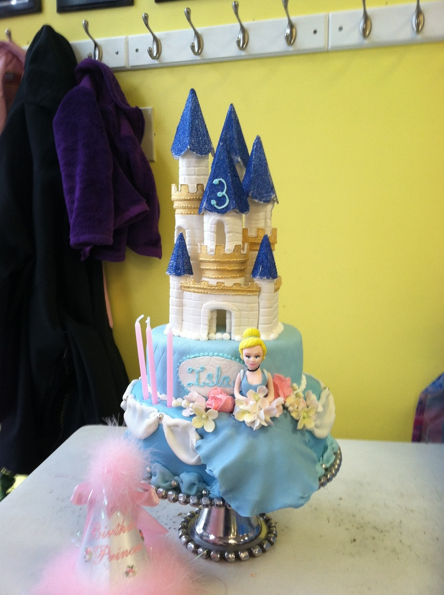 Cinderella And Her Castle on Cake Central