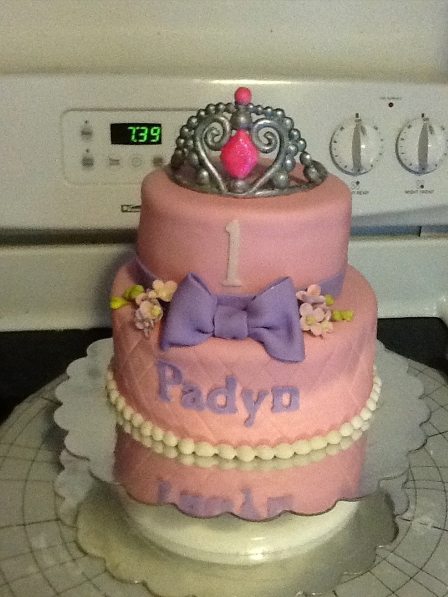 First Birthday Princess on Cake Central