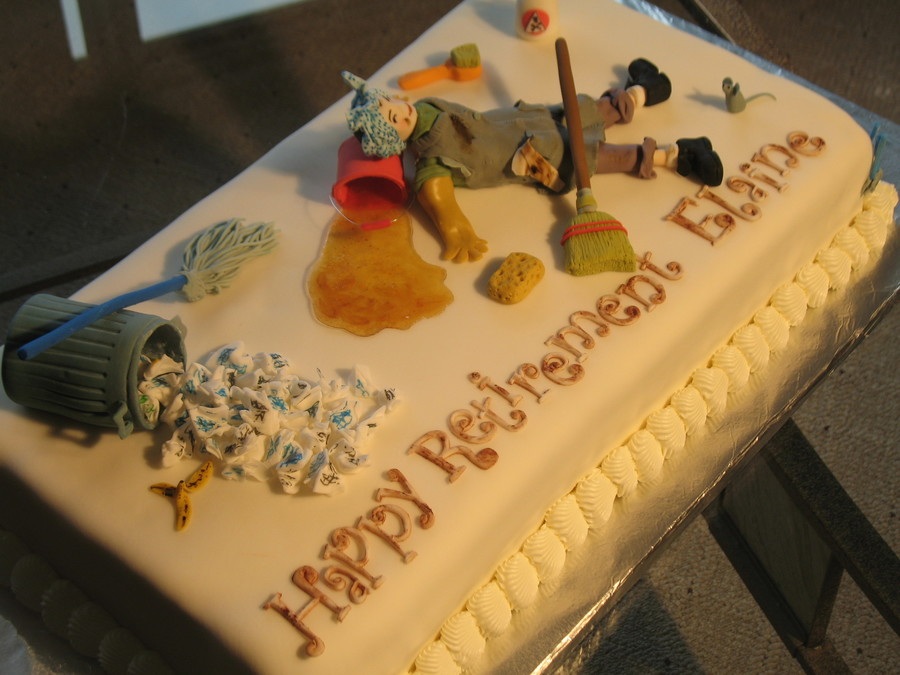 Cake Decorating Ideas For Retirement Party