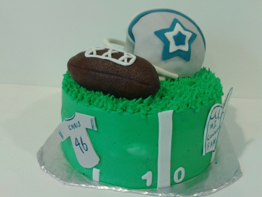 Cowboys Cake on Cake Central
