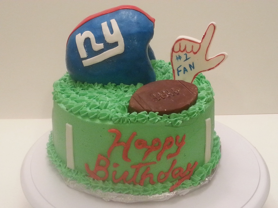 Giants Fan-Birthday Cake on Cake Central