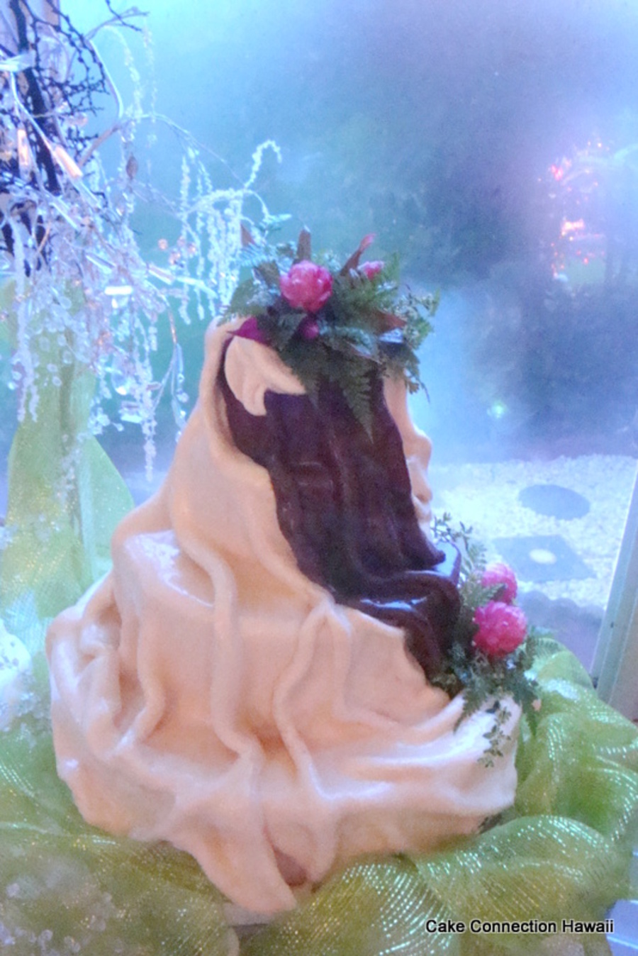 Chocolate Waterfalljpg on Cake Central