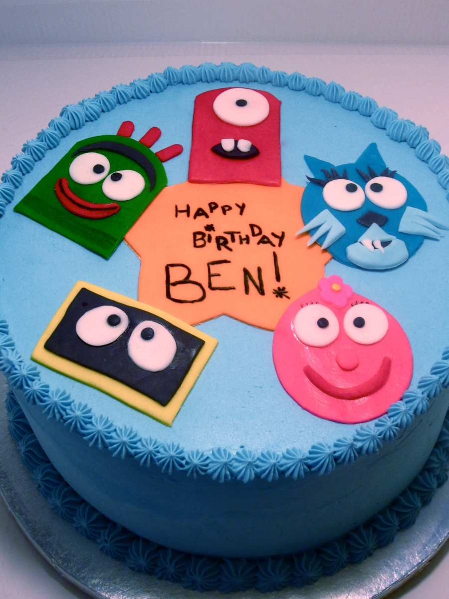 Yo Gabba Gabba on Cake Central