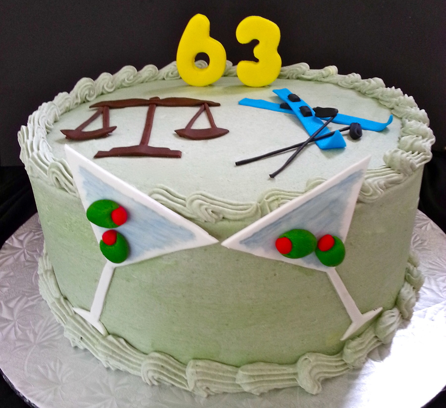 Cheers To 63! on Cake Central