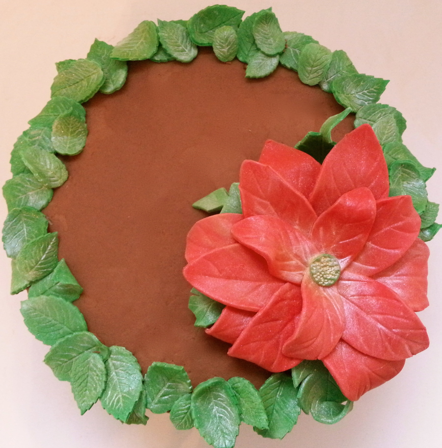 Christmas Wreath Cake on Cake Central