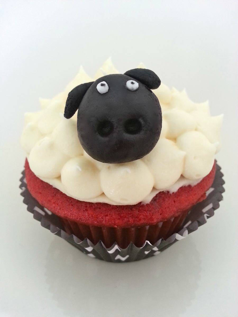 Sheep Cupcake! on Cake Central