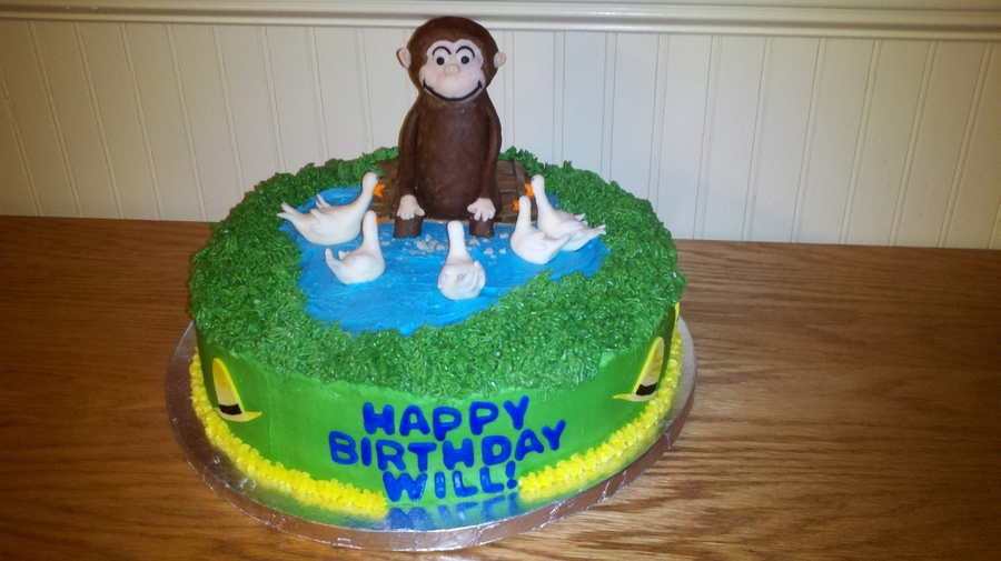 Curious George Cake on Cake Central