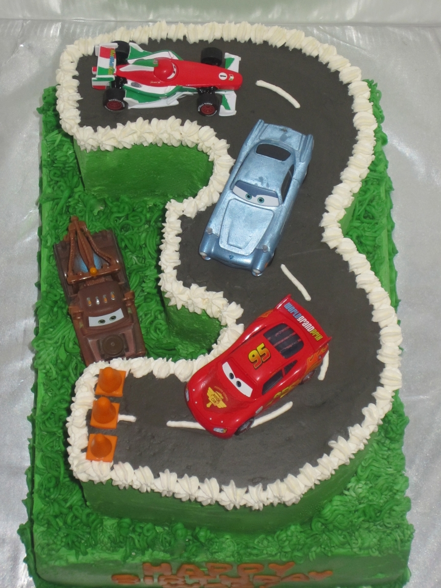 Race Track Cake on Cake Central