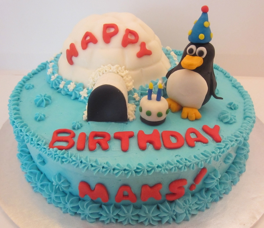 Penguin Cake on Cake Central