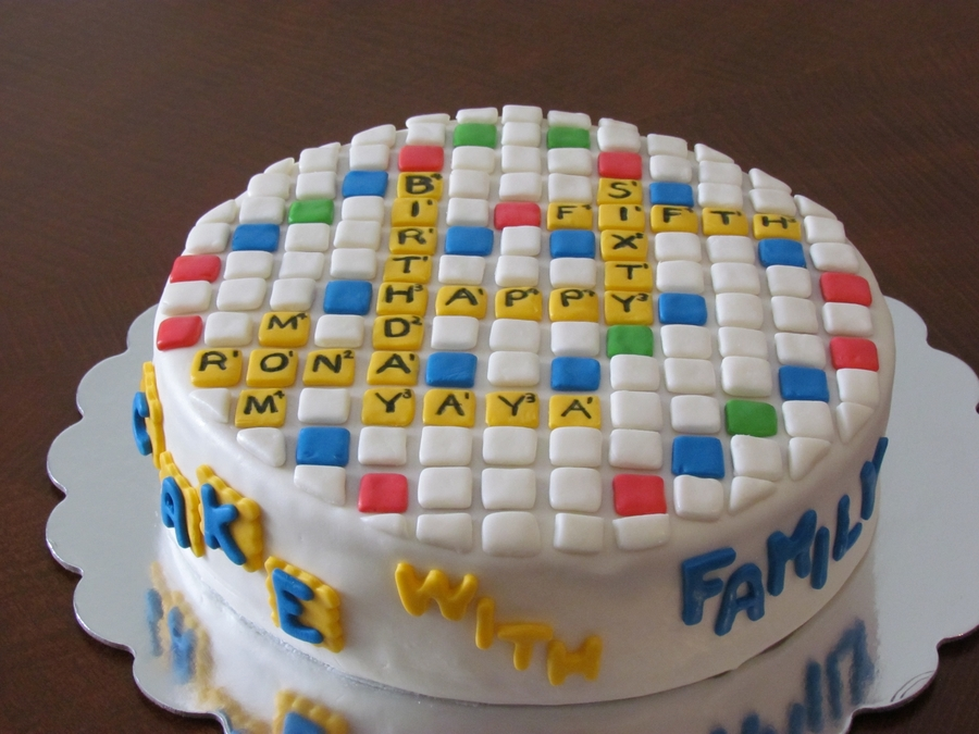 Words With Friends Birthday Cake Cakecentral