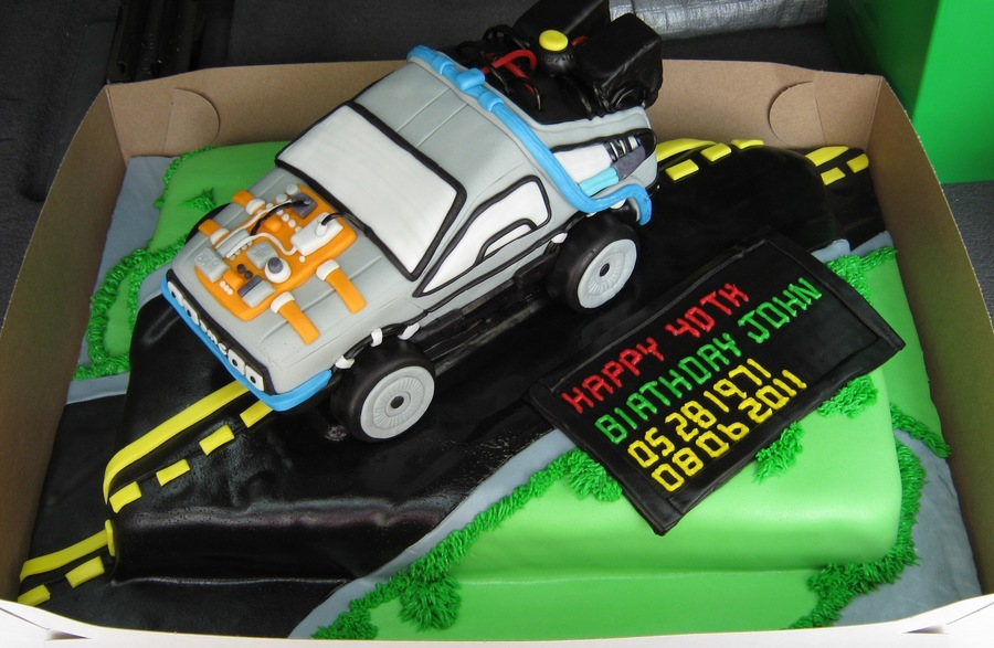 Back To The Future... on Cake Central