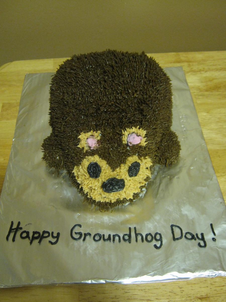 Groundhog Day Cake - CakeCentral.com