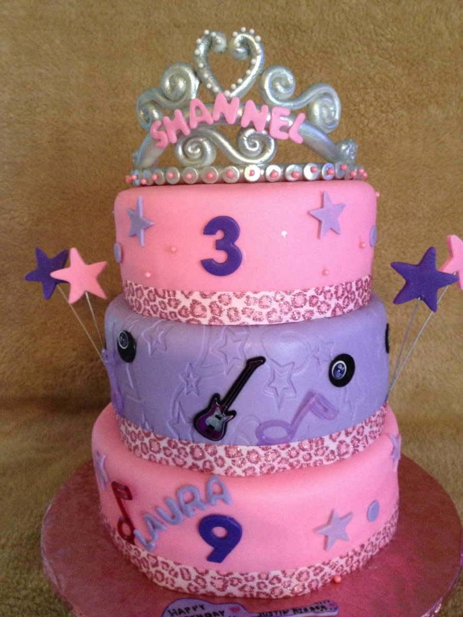 Princess And Rockstar Cake on Cake Central