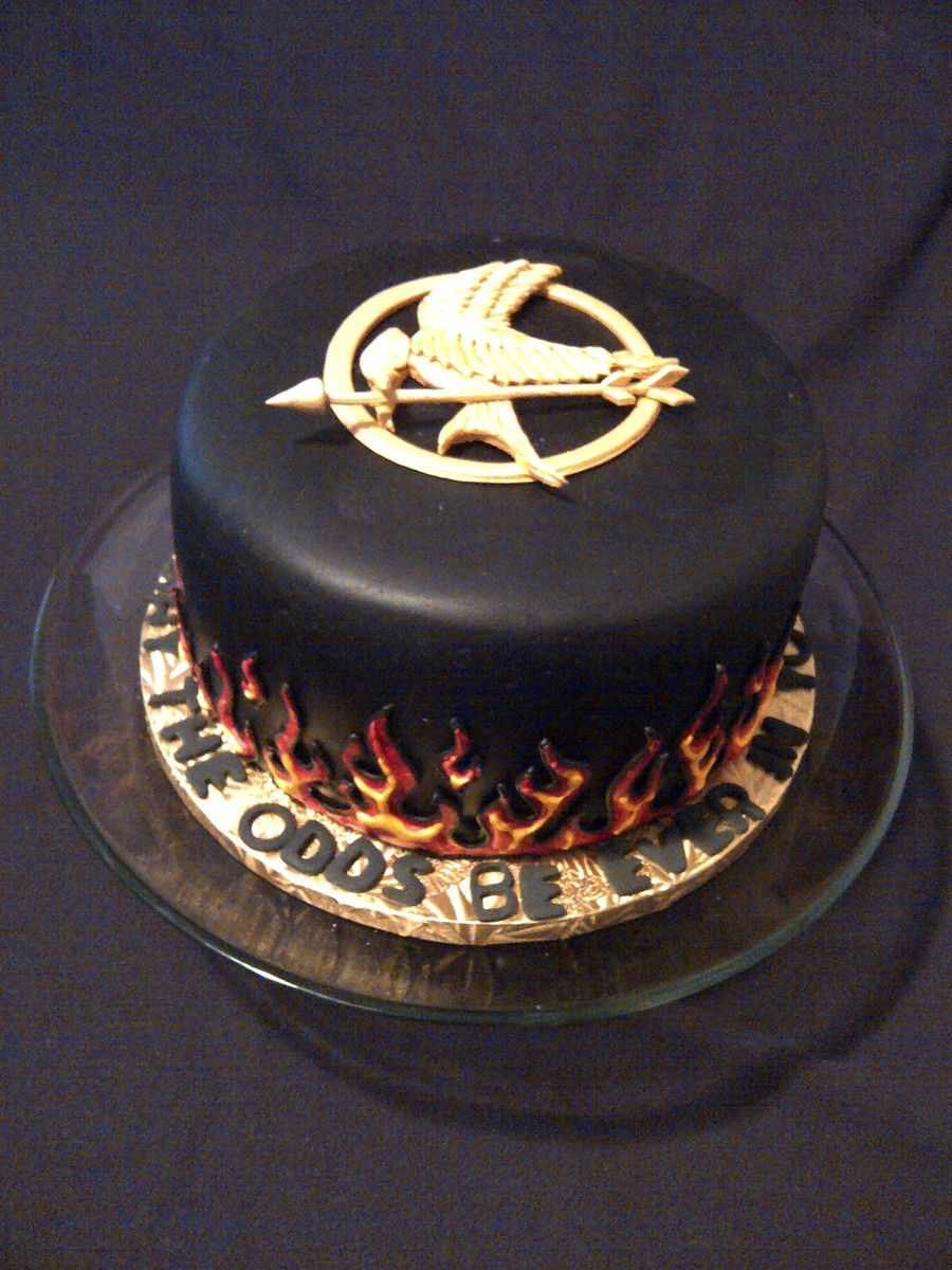 Hunger Games Chocolate Cake Recipe