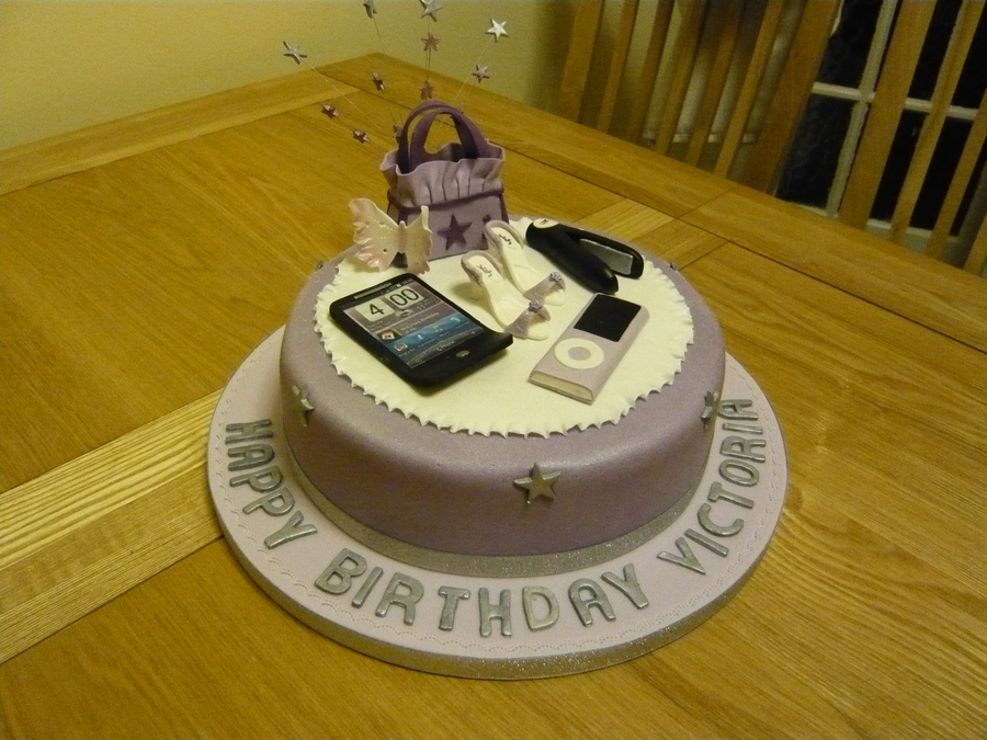 Teenage Girls Birthday Cake - CakeCentral.com