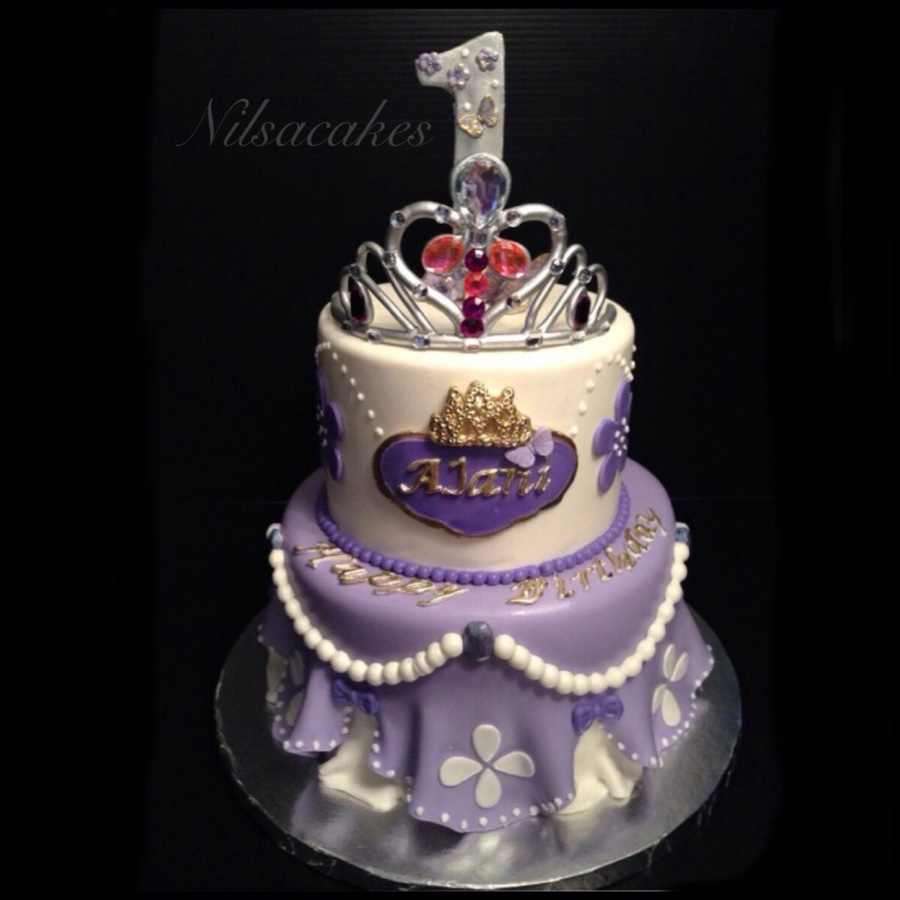 Birthday Cakes Of Sofia The First