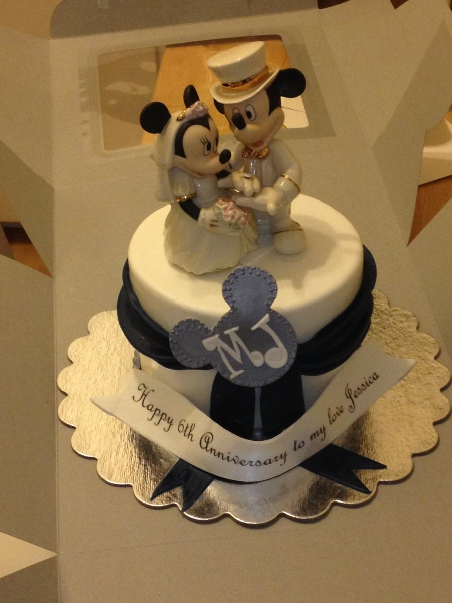 Mickey Mouse Anniversary Cake on Cake Central