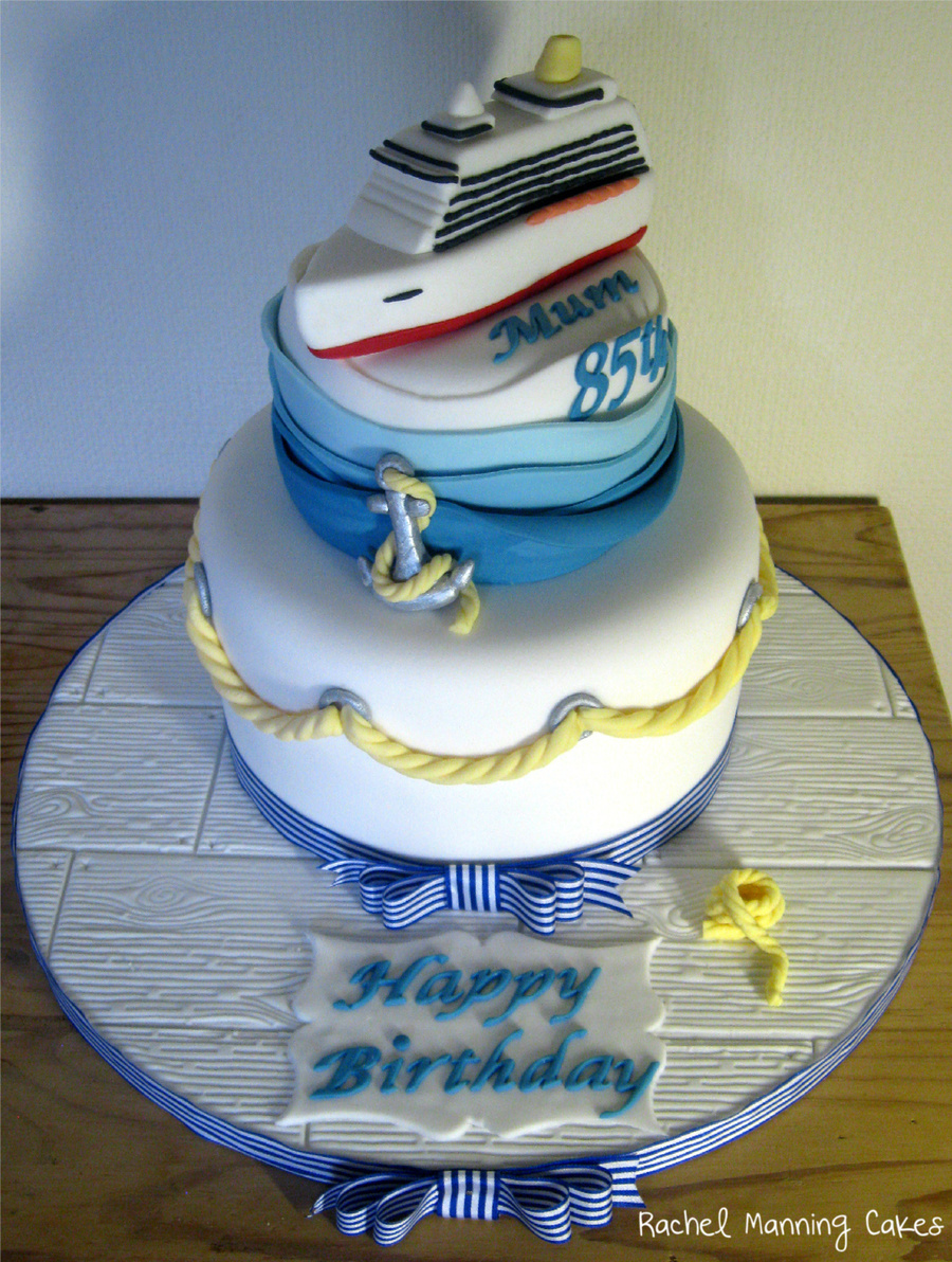 Cruise Cake on Cake Central