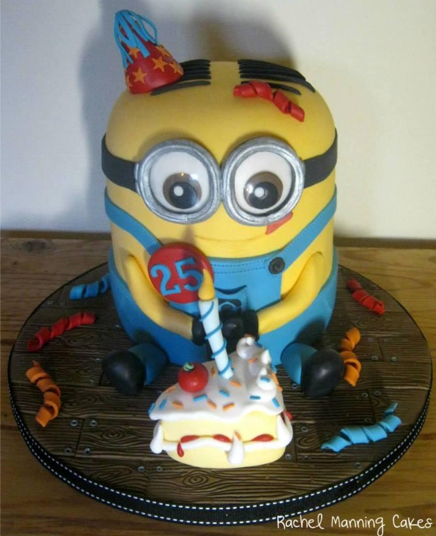 Despicable Me Dave Minion Cake CakeCentralcom