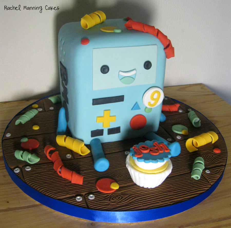 Bmo Adventure Time Cake on Cake Central