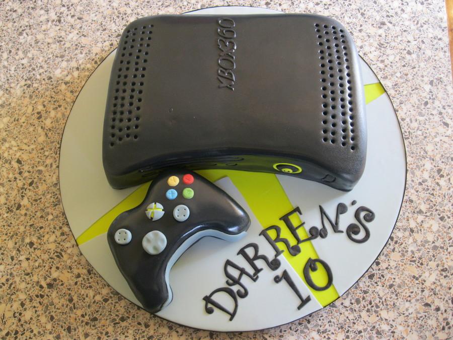 black xbox cakes - photo #5