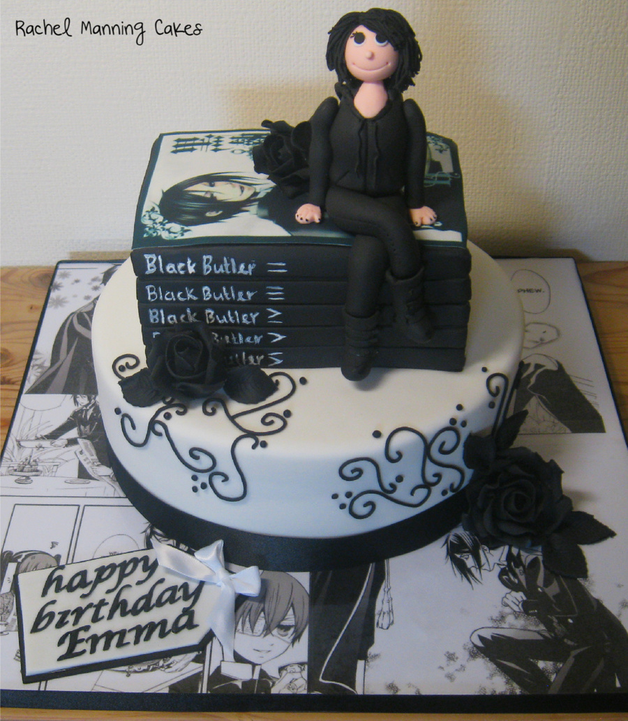 Anime Birthday Cake Black Butler