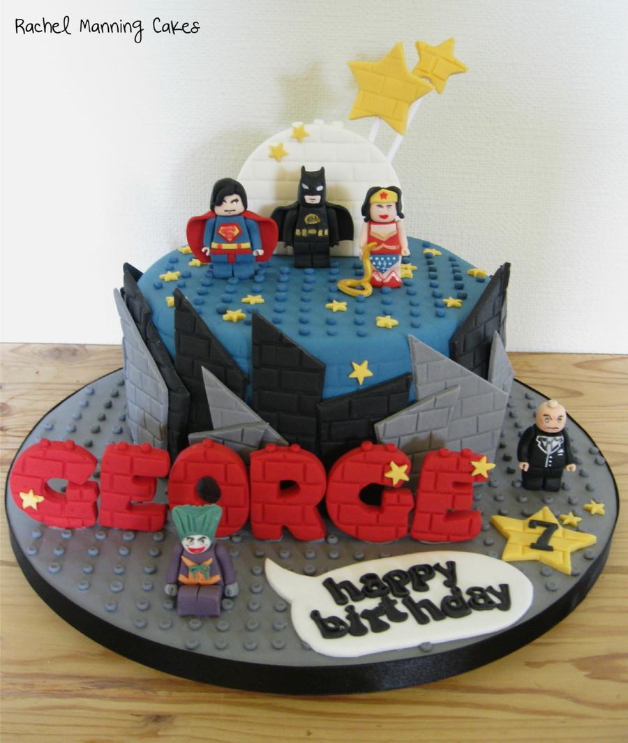 Lego Superheroes Cake Cakecentral Com