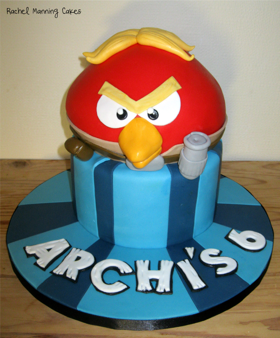 Star Wars Angry Birds Cake on Cake Central