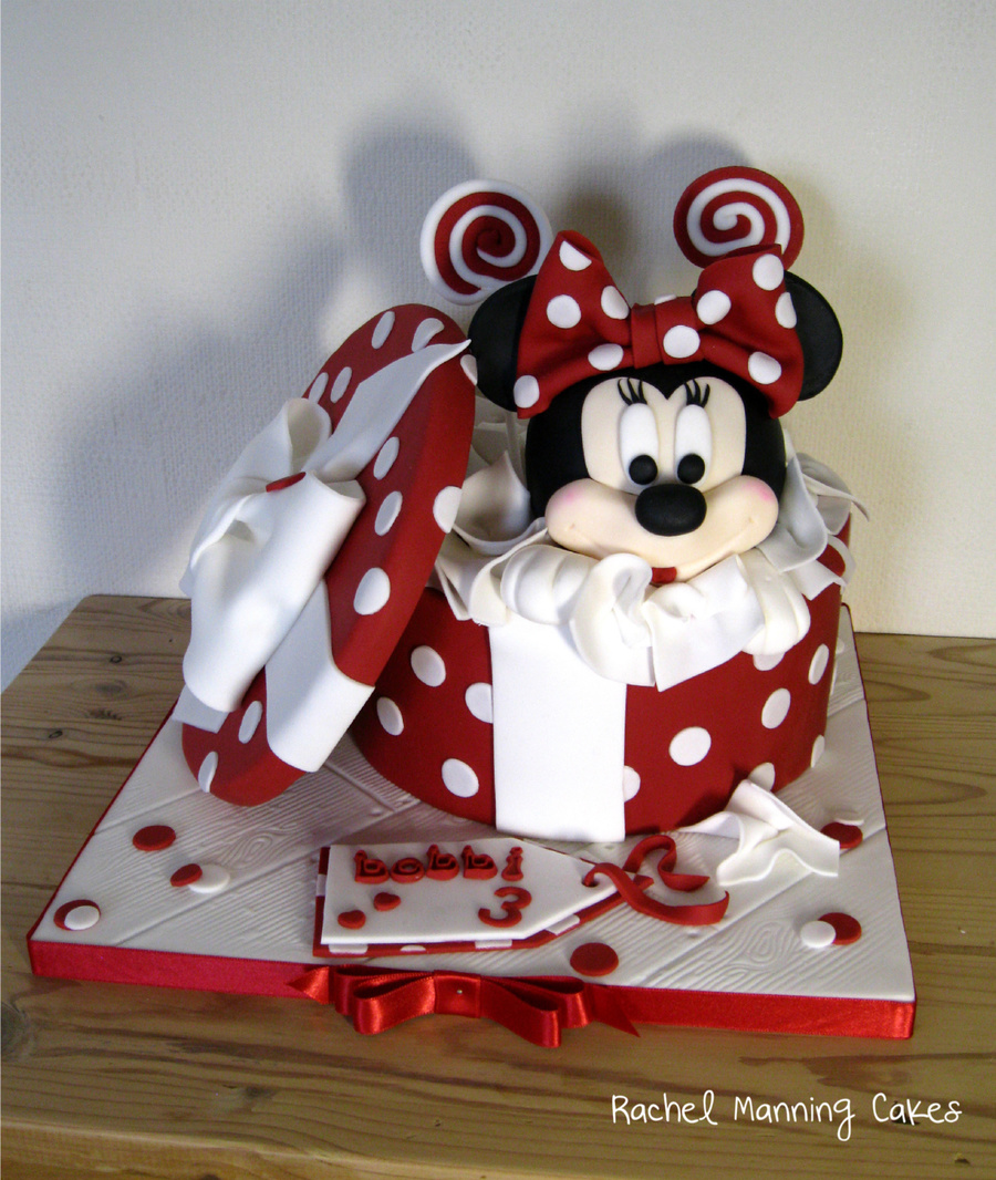 Images Of Minnie Mouse Head Cakes