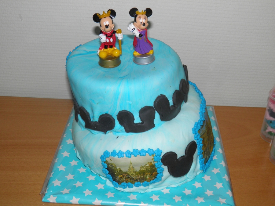 Magnificent Disneyland Paris Birthday Cake Cakecentral Com Funny Birthday Cards Online Aeocydamsfinfo