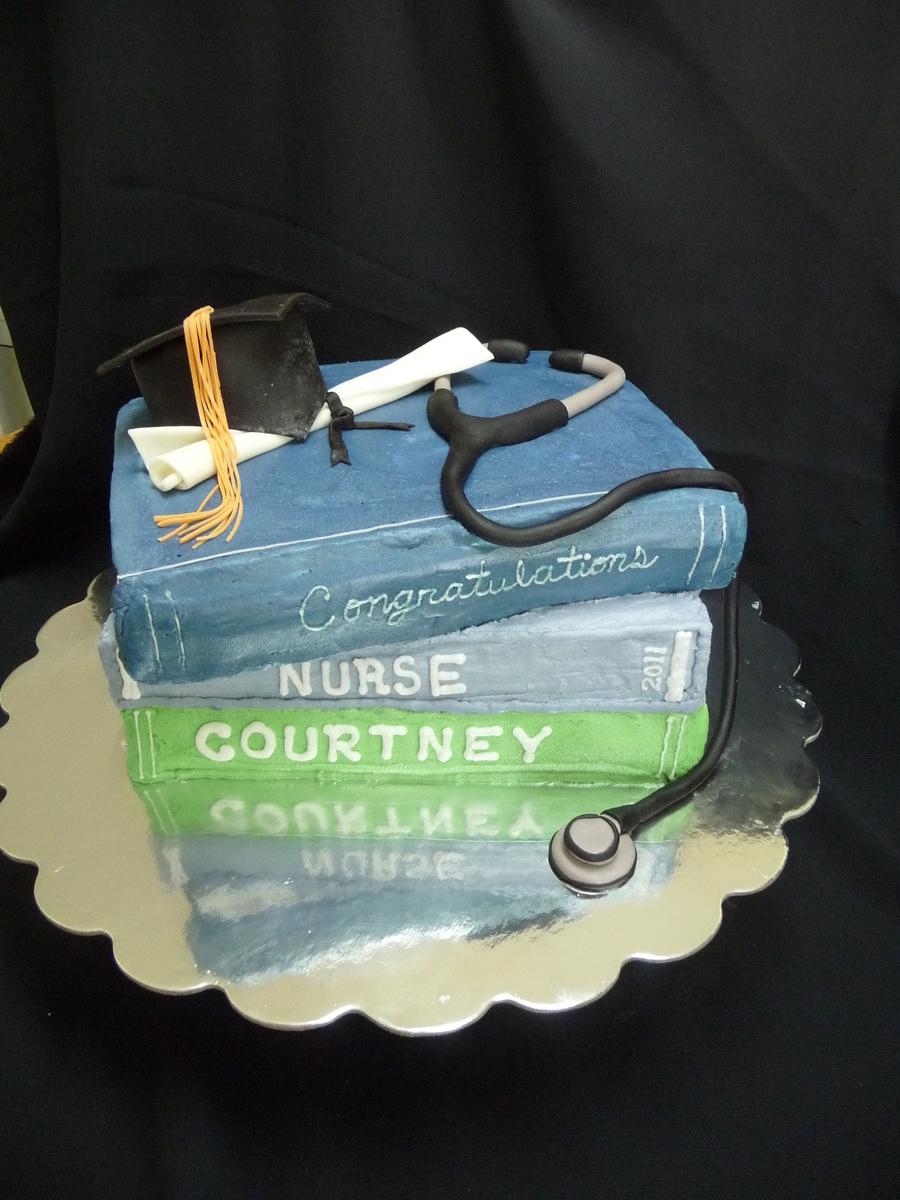 Nurse Graduation Cake Cakecentralcom