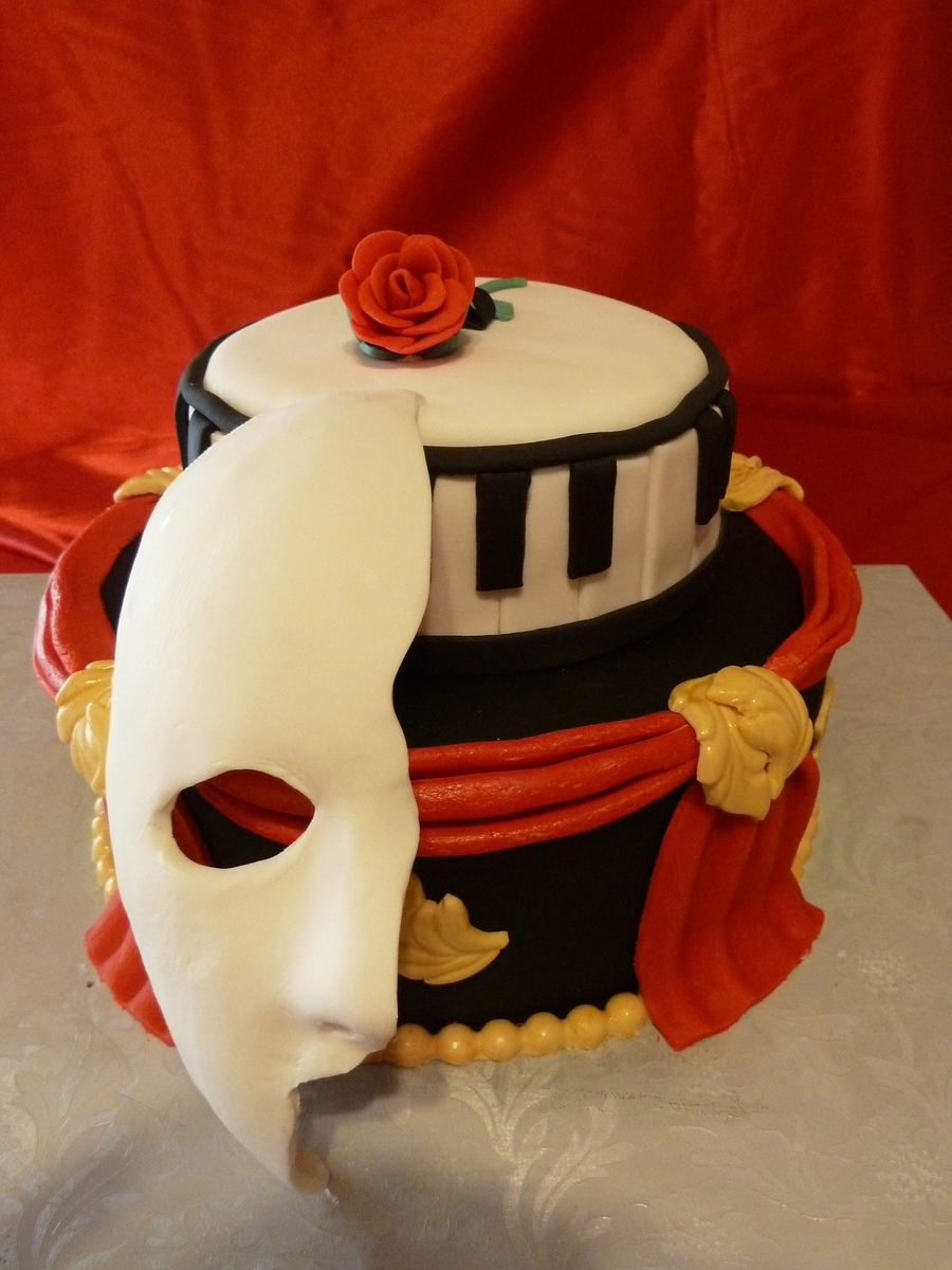 Phantom Of The Opera on Cake Central