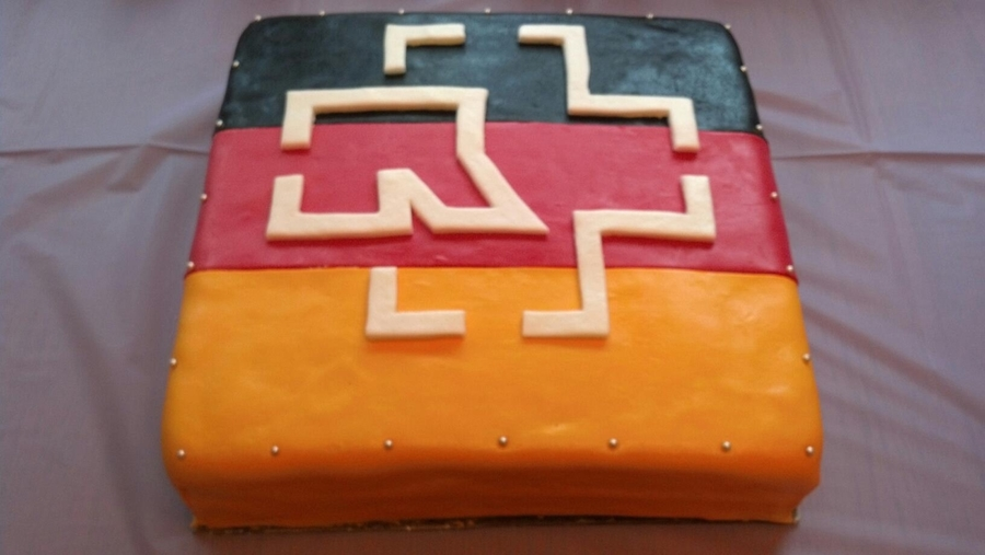 Rammstein German Cake on Cake Central