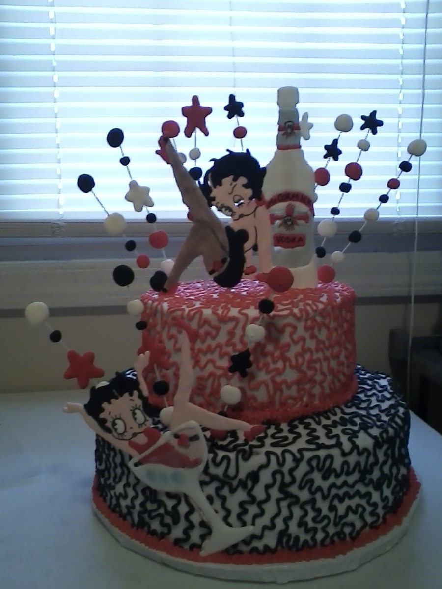 Betty Boop on Cake Central