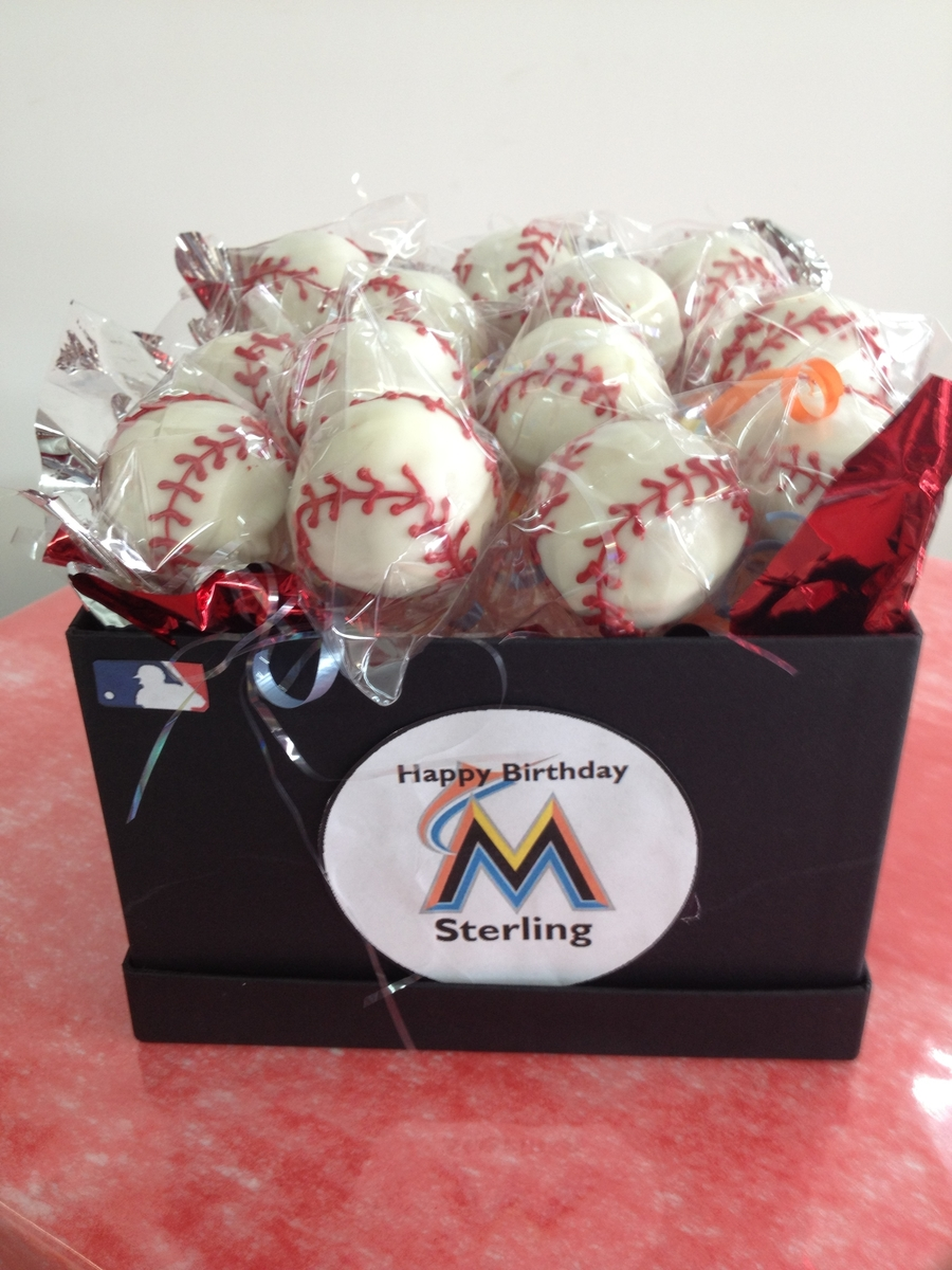 Marlins Ball on Cake Central