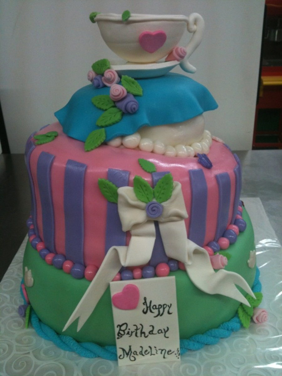 Alice Wonderland on Cake Central