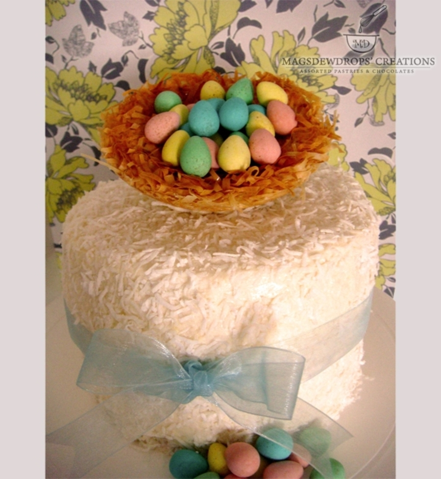 Easter Theme Cake on Cake Central